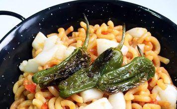 como hacer Fideuá de sepia con pimientos de Top Chef Lidl receta
