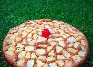 """como hacer Tarta de manzana y canela """"FIT"""" receta"""
