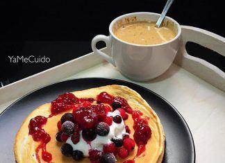 como hacer Tortitas (Pancakes) de vainilla