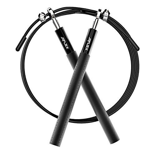 Cuerda para Saltar, JEFlex Calidad Premium Comba Ajustable 3m para Ejercicio y Entrenamiento