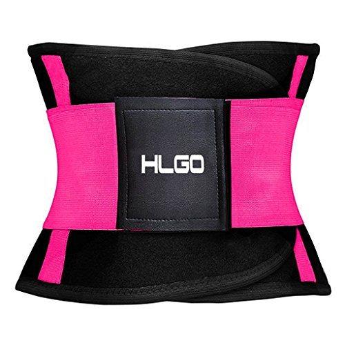 Faja Reductora Deportiva de Neopreno para Hombres y Mujeres Soporte para el Área Lumbar Espalda Abdomen