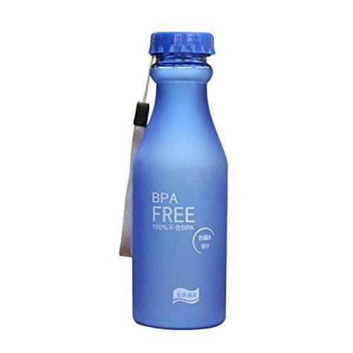 HARRYSTORE 2017 550ML Botella de Agua Portable a prueba de fugas