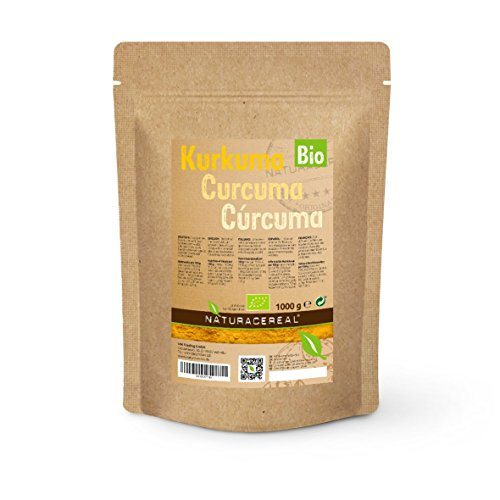 NATURACEREAL Cúrcuma Orgánica en polvo 1kg